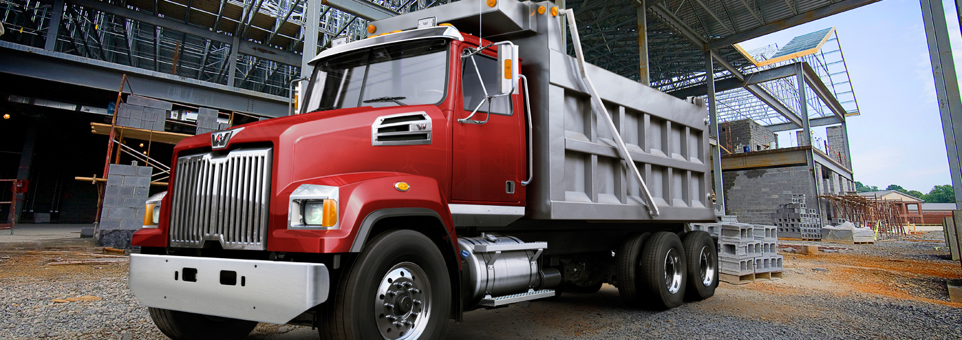 Western Star Vocational Construction Dump Truck