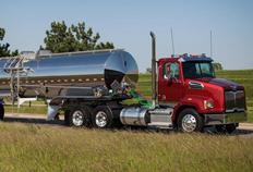 Natural gas trucks