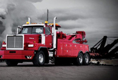 6900 Vocational Towing and Recovery Truck