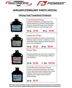 January-February 2016 Penray Parts Special Flyer