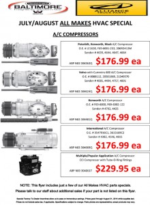 July/August 2014 Alliance All Makes HVAC Special