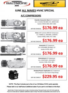 June All Makes HVAC Special