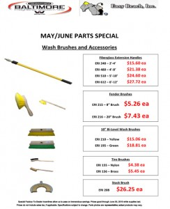 May-June 2015 Easy Reach, Inc. Parts Special Flyer