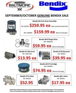 September-October 2015 Genuine Bendix Sale Flyer