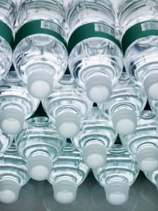 water bottles for Flint residents